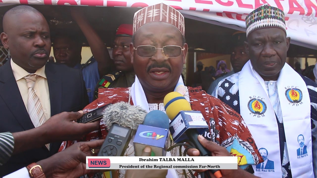 MESSAGE OF IBRAHIM TALBA MALLA PRESIDENT REGIONAL COMMISSION OF THE CAMPAIGN FAR NORTH